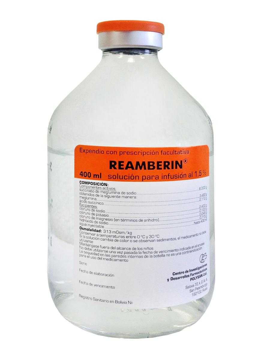 Реамберин в лечении алкоголизма