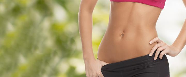 как отличить жир на животе от беременности